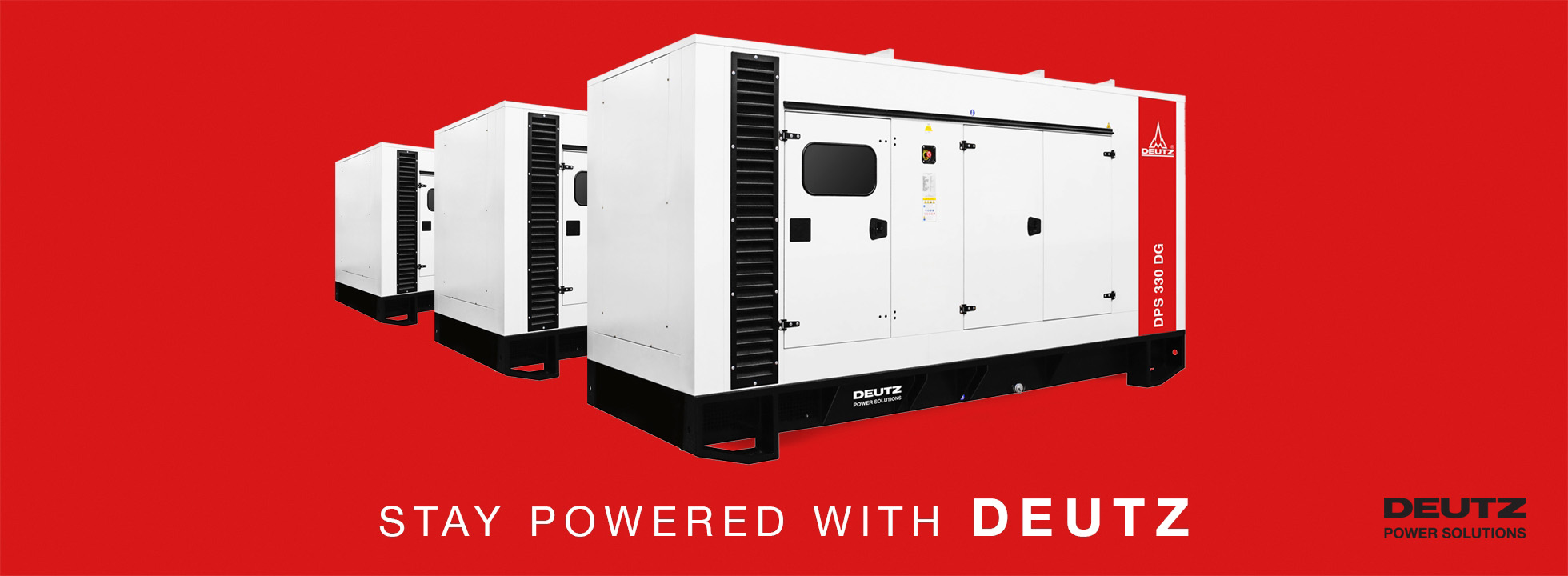 Power Generation Solutions (Industrial Gensets)