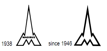 DEUTZ logo 1938 and 1946